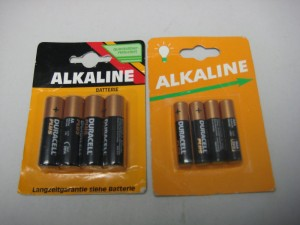 Counterfeit Duracell Batteries