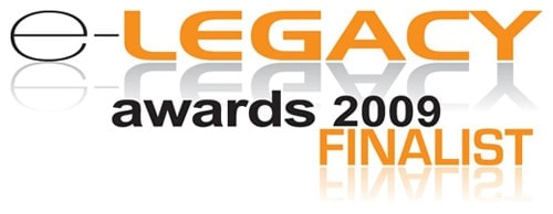E-Legacy Awards 2009 Finalist