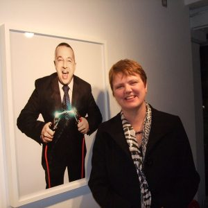 Eddie and Michelle Gallery OXO Exhibition for BT Essence of the Entrepreneur
