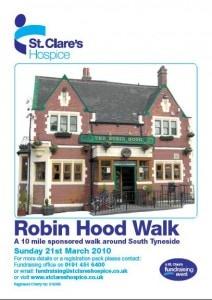 St Clare's Hospice Robin Hood Walk