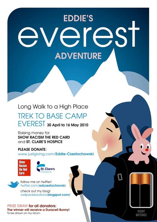 Eddie's Everest Adventure Poster
