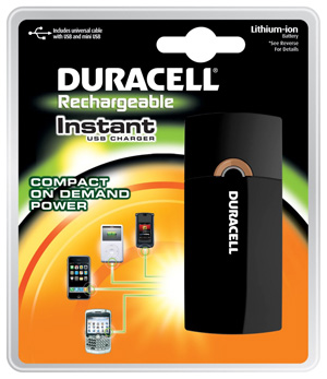 Duracell Instant Charger Updated Version