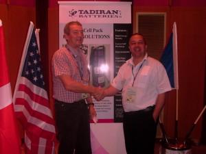 Les and Eddie Tadiran Batteries International Sales Conference 2010