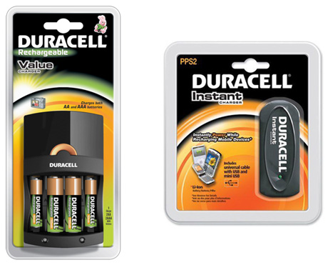 Duracell Value Battery Charger and Duracell Instant Charger Offer