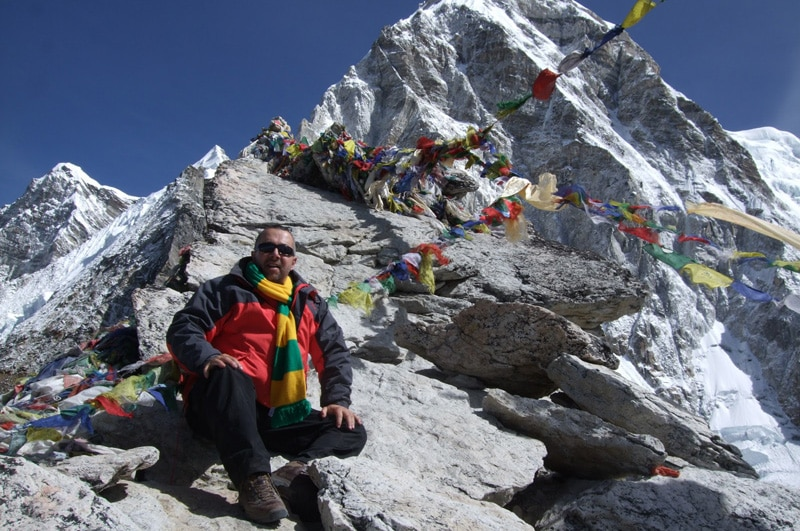 View of Mount Everest from Kala Patthar