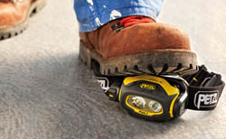 Petzl Pixa Headlamp Weight Demonstration