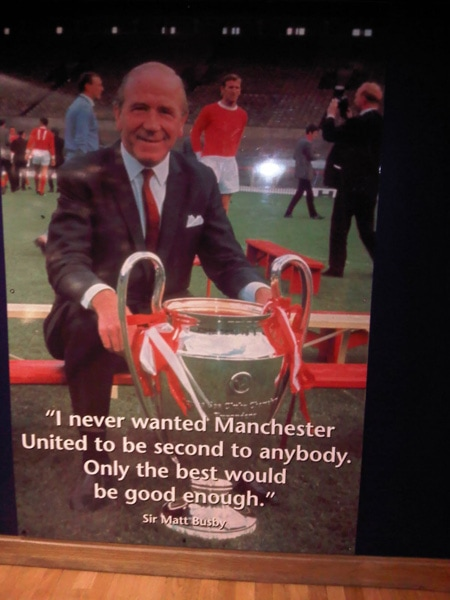 Sir Matt Busby Quote