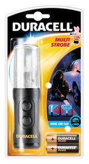 Duracell Multi-Strobe Torch