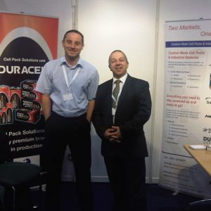 Steve and Eddie Promoting Duracell Products