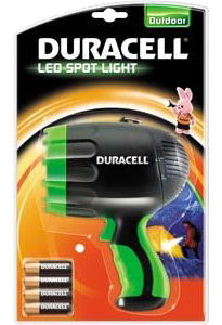 Duracell LED Spot Light Torch