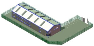 CAD Drawing of the New Building