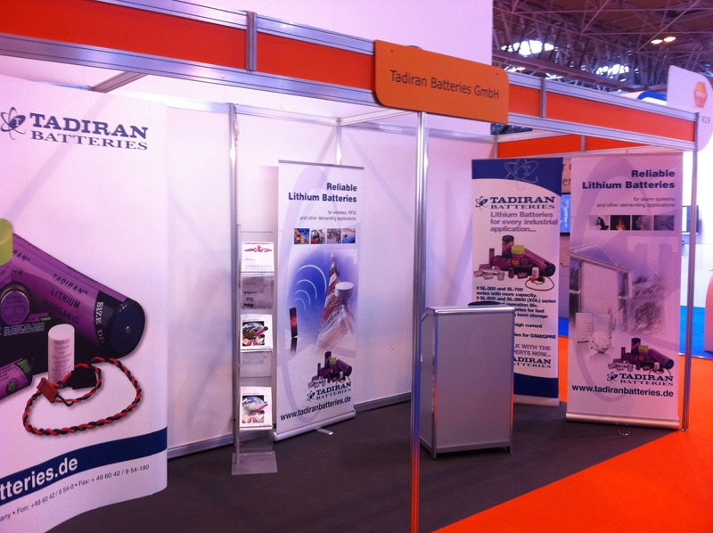 Tadiran Batteries Stand at Nemex