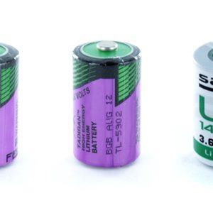 Tadiran SL750/S, TL5902/S and Saft LS14250 Lithium 1/2 AA Batteries