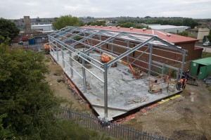More Steel Frames Fitted 1