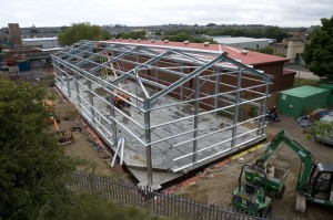 More Steel Frames Fitted 3