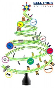 Cell Pack Solutions Christmas Tree