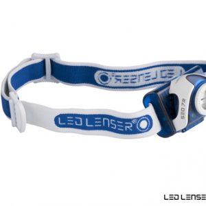 LED Lenser SEO7R 6107R Rechargeable Blue Headlamp