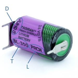 Marking and Traceability of Tadiran Batteries