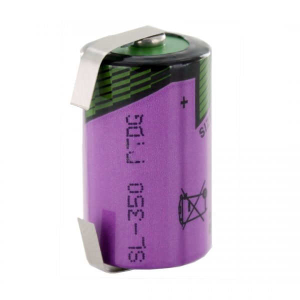 Tadiran Lithium SL350/T 1/2 AA Tagged Battery