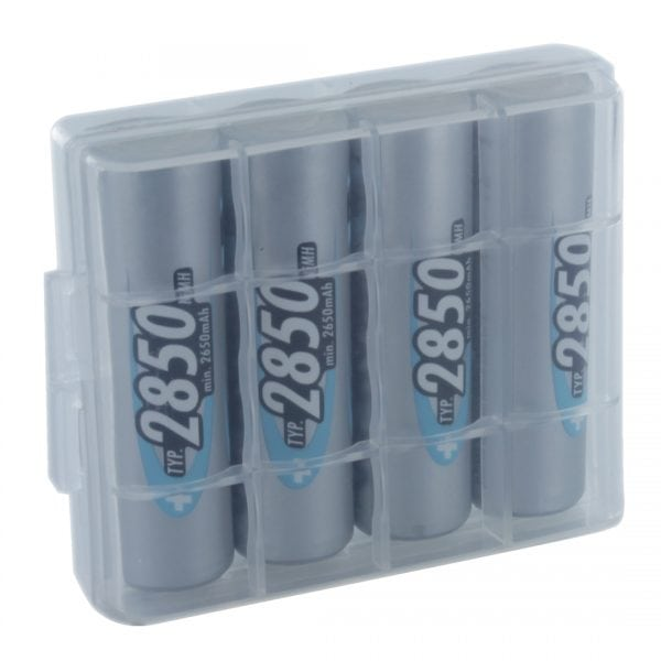 Ansmann Digital 4 x AA 2850mAh Batteries & Free Battery Box
