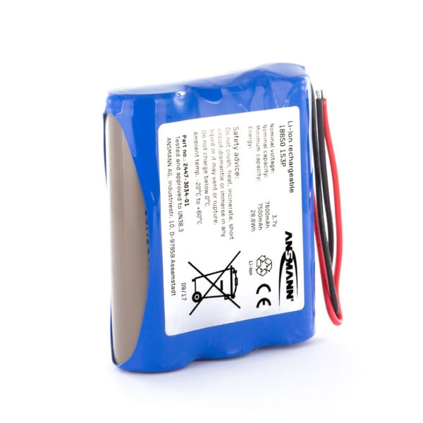 Ansmann Standard Li-ion 1S3P 3.7V / 7800mAh Battery Pack