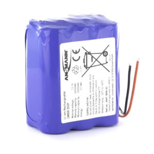 Ansmann Standard Li-ion 3S2P 11.1V / 5200mAh Battery Pack