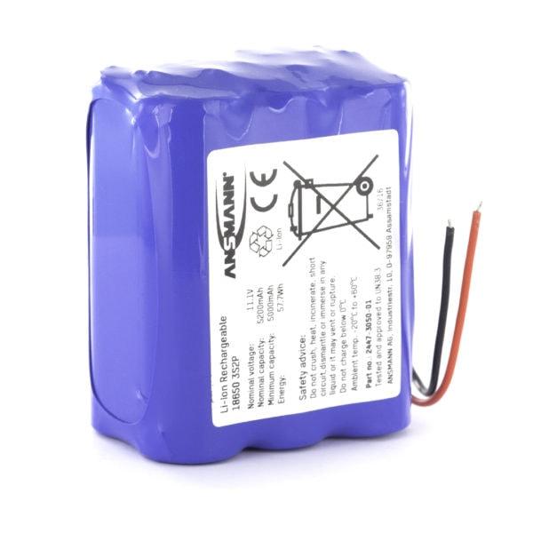 Ansmann Standard Li-ion 3S2P 11.1V / 5200mAh Battery Pack