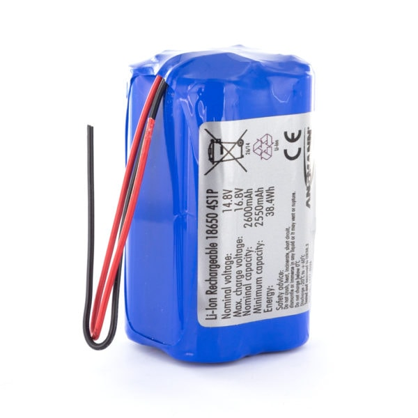 Ansmann Standard Li-ion 4S1P 14.8V / 2600mAh Battery Pack (Block)