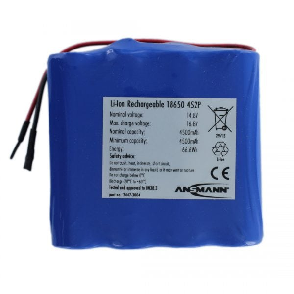 Ansmann Standard Li-ion 4S2P 14.8V / 4500mAh Battery Pack