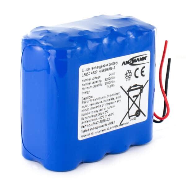 Ansmann Standard Li-ion 4S1P 14.8V/2600mAh Battery Pack (Block Format)