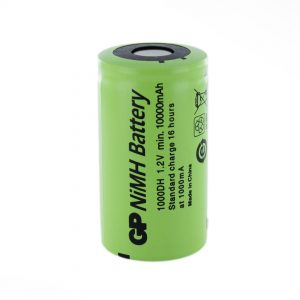 GP Batteries GP1000DH D Rechargeable Battery