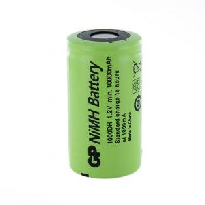 GP Batteries GP1000DH D Rechargeable Battery