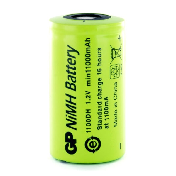 GP Batteries GP1100DH D Rechargeable Battery