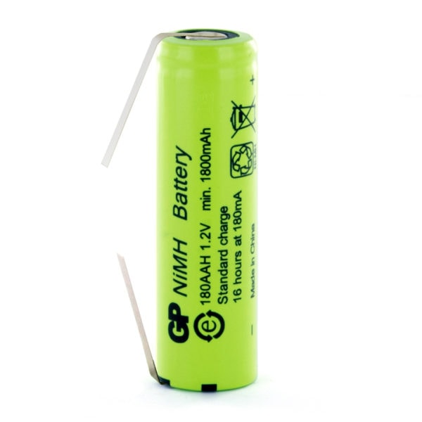 GP Batteries GP180AAH/T AA Rechargeable Tagged Battery