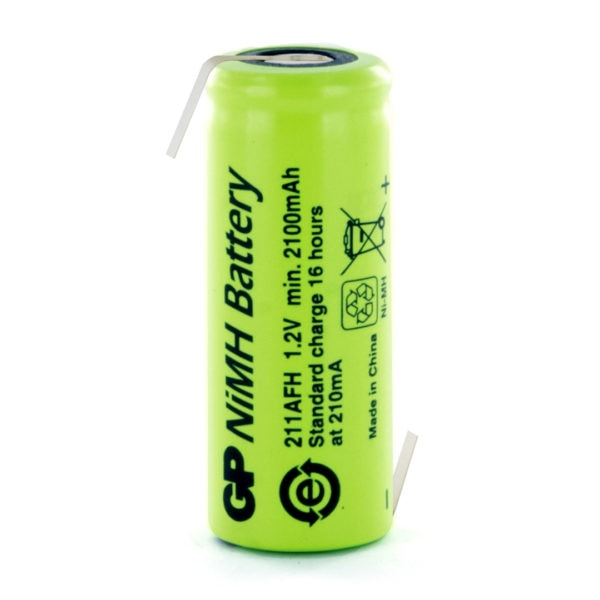 GP Batteries GP211AFHHB 4/5 AF Rechargeable Opposite Tagged Battery