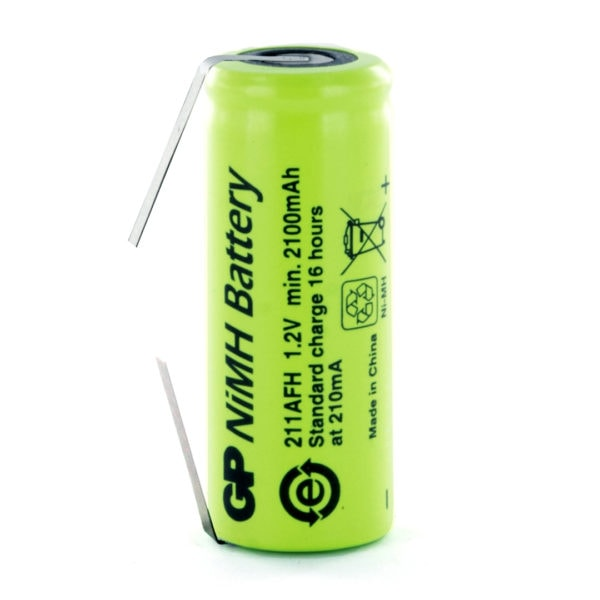 GP Batteries GP211AFH/T 4/5 AF Rechargeable Tagged Battery
