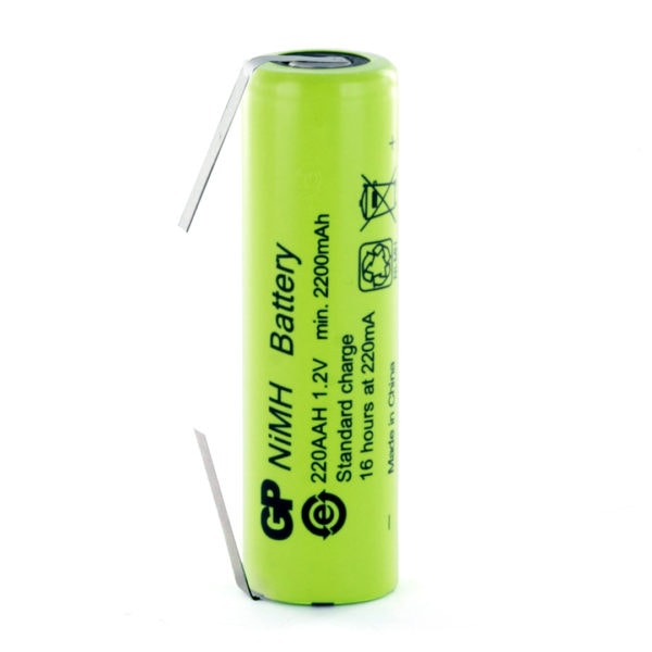 GP Batteries GP220AAH/T AA Rechargeable Tagged Battery