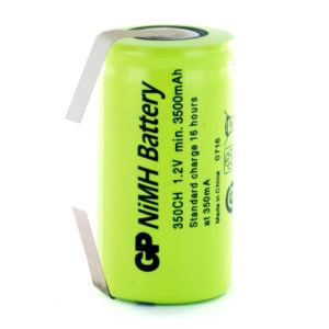 GP Batteries GP350CH/T C Rechargeable Tagged Battery