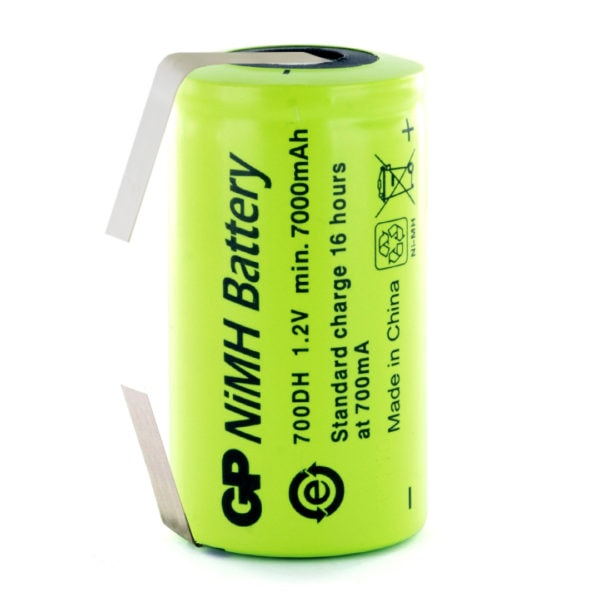 GP Batteries GP700DH/T D Rechargeable Tagged Battery
