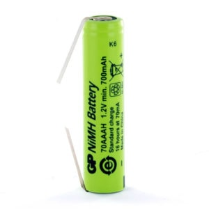 GP Batteries GP70AAAH/T AAA Rechargeable Tagged Battery