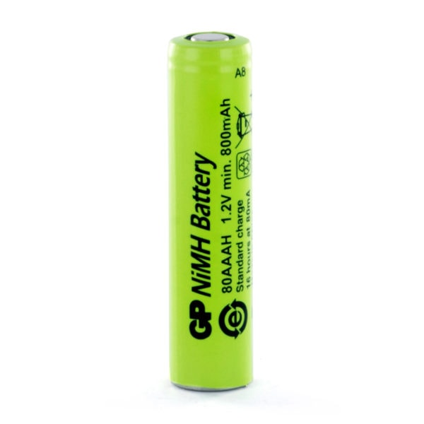 GP Batteries GP80AAAH AAA Rechargeable Battery