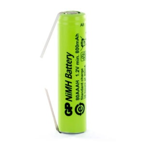 GP Batteries GP80AAAH/T AAA Rechargeable Tagged Battery
