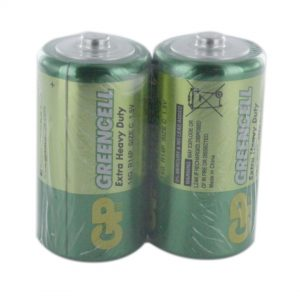 GP Batteries Greencell 2 x C (GP14G) Batteries