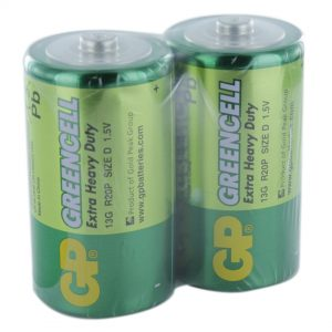 GP Batteries Greencell 2 x D (GP13G) Batteries