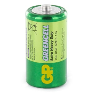 GP Batteries Greencell C Batteries