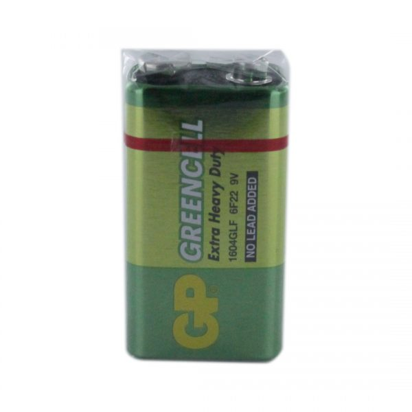 GP Batteries Greencell PP3 (9V / GP1604G) Battery