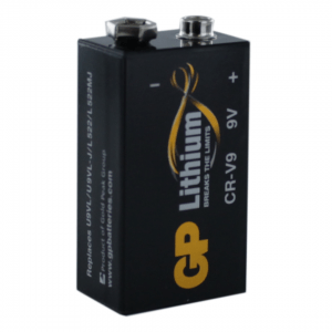 GP Batteries Lithium PP3 (9V / GP CR-V9) Battery