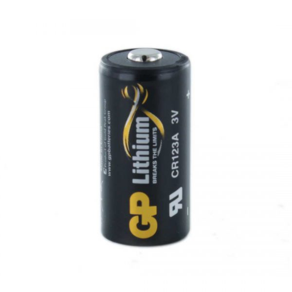 GP Batteries Photo Lithium GP CR123A Battery (Bulk)