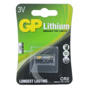 GP Batteries Photo Lithium GP CR2 Battery (Blister Packed)