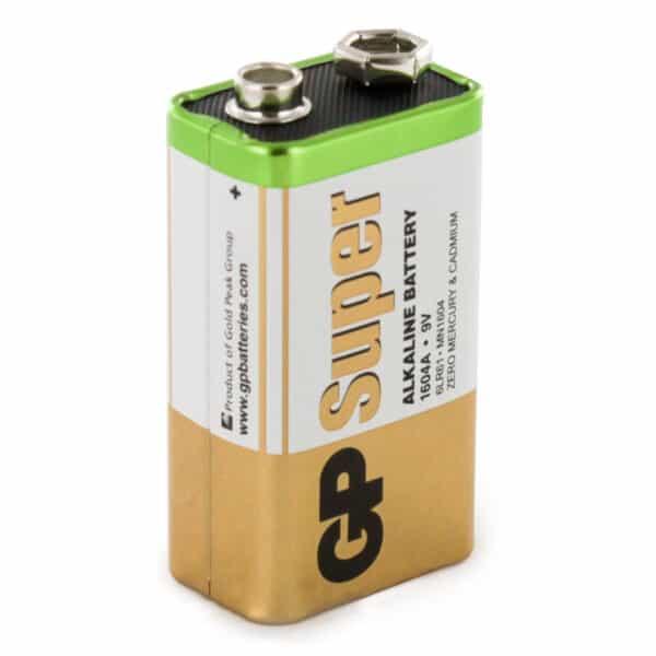GP Batteries Super Alkaline PP3 (9V) Battery